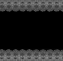 黒レースの画像(加工用に関連した画像)