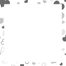 ハート柄 フレームの画像(四角に関連した画像)