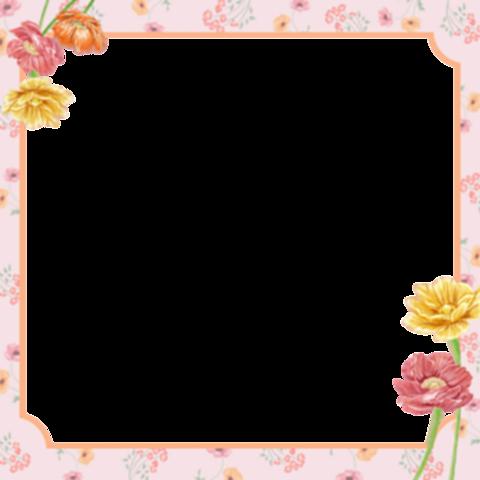 花 フレームの画像 プリ画像