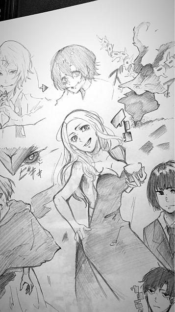 東京喰種 落描きの画像(プリ画像)