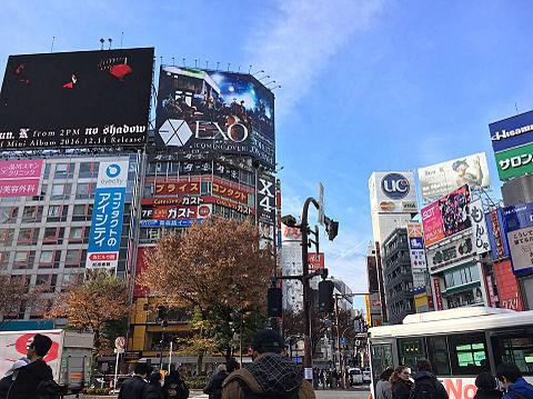EXO 渋谷の画像(プリ画像)
