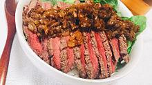 ローストビーフ丼の画像(ローストビーフに関連した画像)