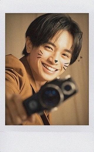 リクエストチェキ風画像中島健人くんの画像(プリ画像)