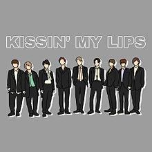 KISSIN' MY LIPS / Snow Man  線画の画像(スノーマンに関連した画像)