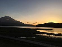 山中湖 富士山 プリ画像