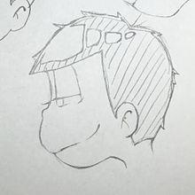 横顔 一松の画像(プリ画像)