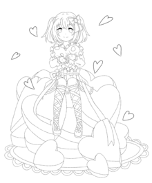 線画。の画像(線画提供に関連した画像)
