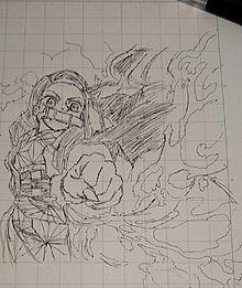 ボールペン 一発描き 禰豆子の画像(禰豆子に関連した画像)