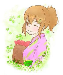 焼き芋+ミツバ=?の画像(焼き芋 イラストに関連した画像)