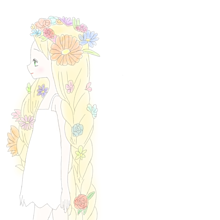 ②加工→ポチ 塗り絵の画像(プリ画像)