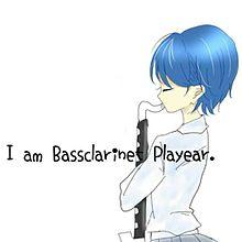 Bass clarinet Playear♡の画像(プリ画像)