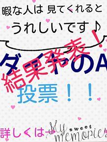 ダイヤのA 投票結果!!