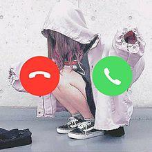 お電話📞の画像(電話風加工に関連した画像)