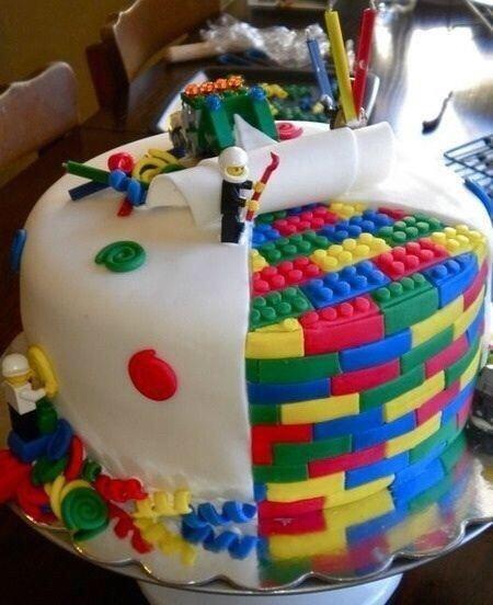 レゴケーキの画像(プリ画像)