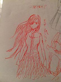 エルザの一発描き!の画像(プリ画像)
