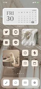 ホーム画面カスタマイズの画像(スタマイに関連した画像)