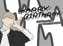 神ちゃん  Happybirthday  🌷 プリ画像