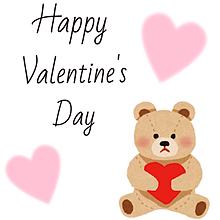Happy  valentine's day プリ画像