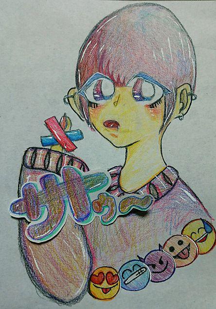 色鉛筆ちゃんの画像(プリ画像)