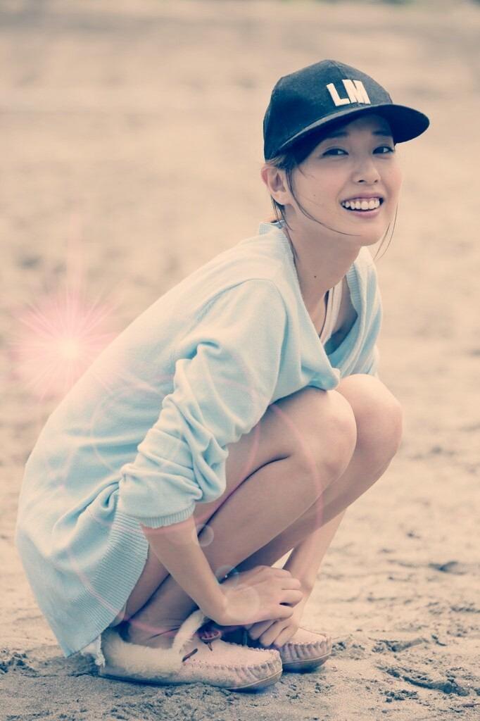 帽子を被った戸田恵梨香がかわいい