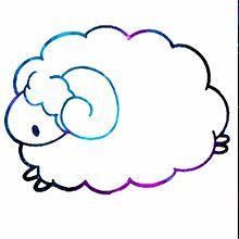 羊/素材/宇宙柄の画像(素材/宇宙柄に関連した画像)