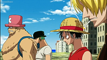 Walking to Franky houseの画像(ONEPIECEに関連した画像)