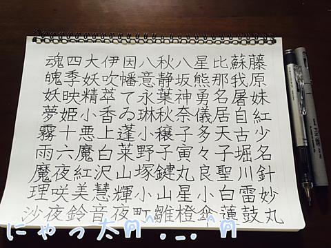 東方キャラで漢字練習