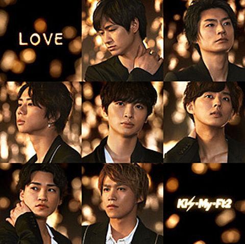 LOVE  ジャケ写  初回盤Bの画像(プリ画像)