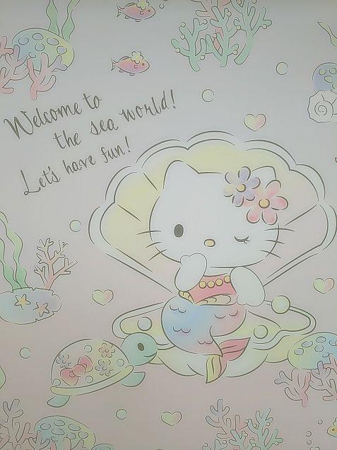 キティちゃんランドの壁の画像(プリ画像)