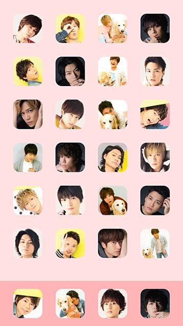 Kis-My-Ft2全員iPhoneホーム画面壁紙サイズまとめの画像 プリ画像