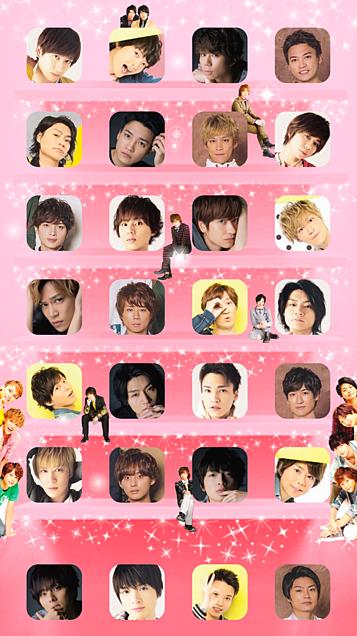 Kis-My-Ft2全員iPhoneホーム画面壁紙2の画像(プリ画像)