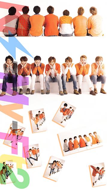Kis-My-Ft2全員iPhone壁紙サイズ・ロゴ縦10.4の画像(プリ画像)