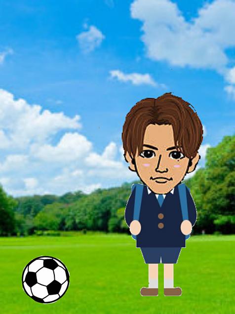 サッカー少年の画像(プリ画像)