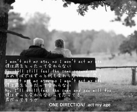 ONE DIRECTION Act My Ageの画像(プリ画像)