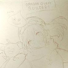 妹に描いたドラクエ(?)の画像(ロングヘアに関連した画像)