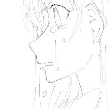 横顔が難しくて笑える()の画像(泣き顔に関連した画像)