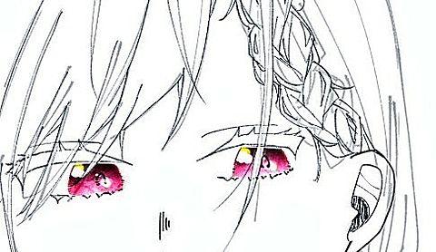 目の塗り練習の画像(プリ画像)