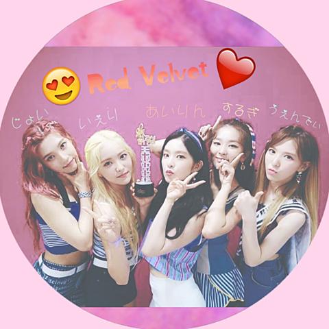 Red Velvet/Red FLAVOR アイコンの画像(プリ画像)