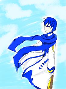 青空とKAITOの画像(プリ画像)
