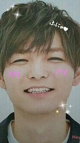 薮くん💚ふにゃ笑顔☺️の画像(山田涼介/中島裕翔に関連した画像)