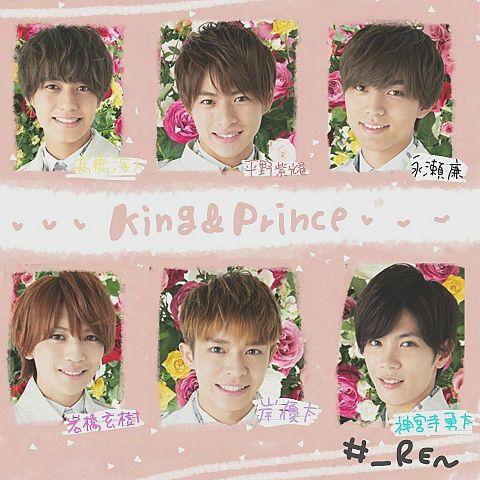 King&Prince加工画の画像(プリ画像)