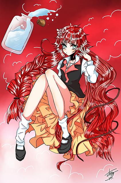 能力名ーーーー「深淵の赤毛のアン」の画像(プリ画像)