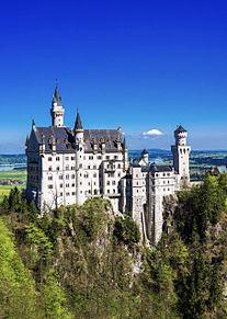 ドイツ ノイシュバンシュタイン城  ハートいいねを押してね!の画像(ドイツに関連した画像)