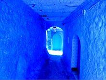 世界の青い絶景  モロッコ  写真右下のハートを押してねの画像(モロッコに関連した画像)