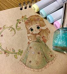 ふわふわ森のお姫様(❁˙ ˘ ˙❁)の画像(プリ画像)