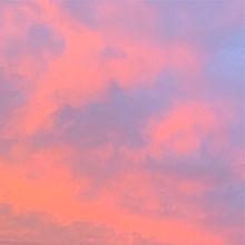 空の画像(夕焼けに関連した画像)