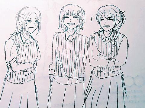 私は友達とバカ笑いしてる時が好きですの画像(プリ画像)
