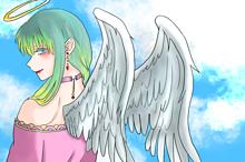 天使ちゃん(オリキャラ) プリ画像