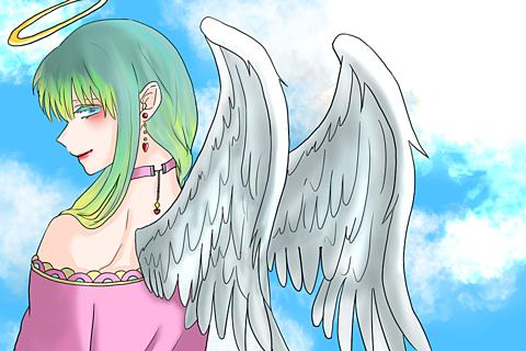 天使ちゃん(オリキャラ)の画像(プリ画像)