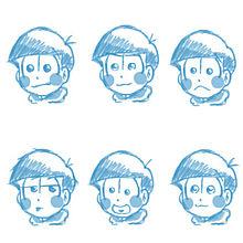 六つ子( ¨̮  )💕 プリ画像